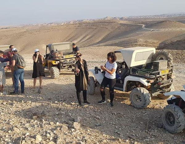 טיול במדבר