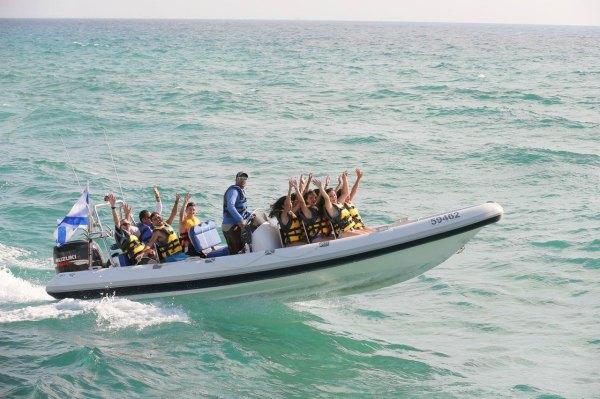 סיבוב על סירות מהירות