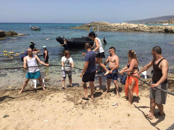 עבודת צוות ימית
