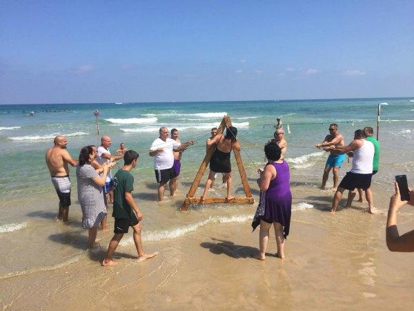 אתגרים בחוף