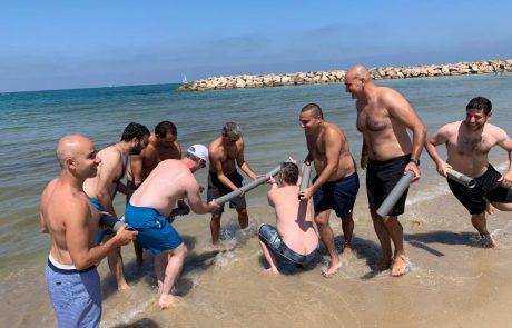 ימי גיבוש בחוף הים