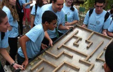 פעילות לבתי ספר – אתגרים בכפר הירוק